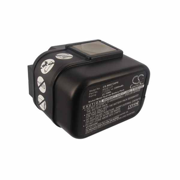 Replacement Battery Batteries For ATLAS COPCO BS2E7.2T CS MKE720PX