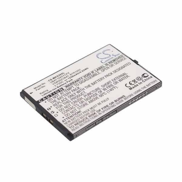 Replacement Battery Batteries For MICROSOFT BTR1002 CS MKS20SL