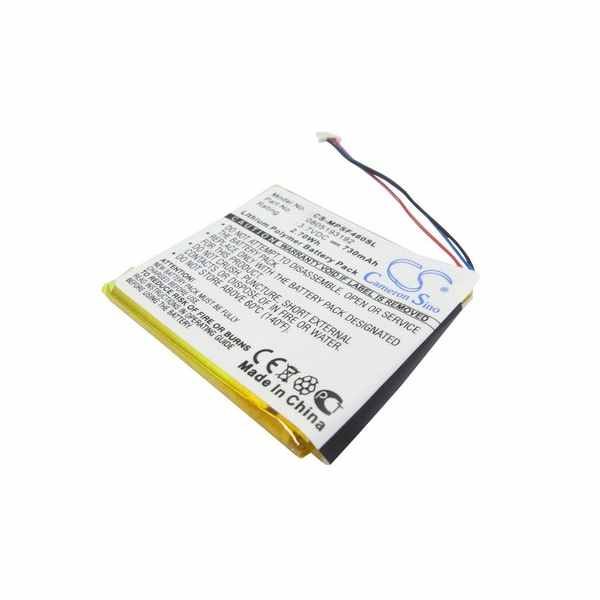 Replacement Battery Batteries For SANDISK Sansa SMDX10R 8192K P70 CS MPSF460SL
