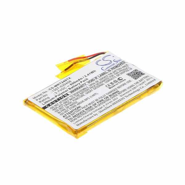 Replacement Battery For Rii 1507-030408 i24T mini i24 RT-MWK24T