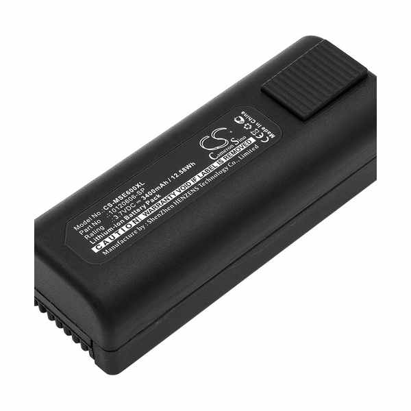 Replacement Battery Batteries For MSA 10120606 SP CS MSE600XL