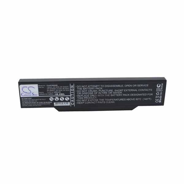 Replacement Battery Batteries For ECS 18650C CS MT8066NB