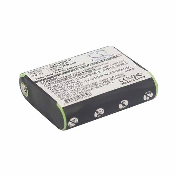 Replacement Battery Batteries For MOTOROLA 4002A CS MTV500TW