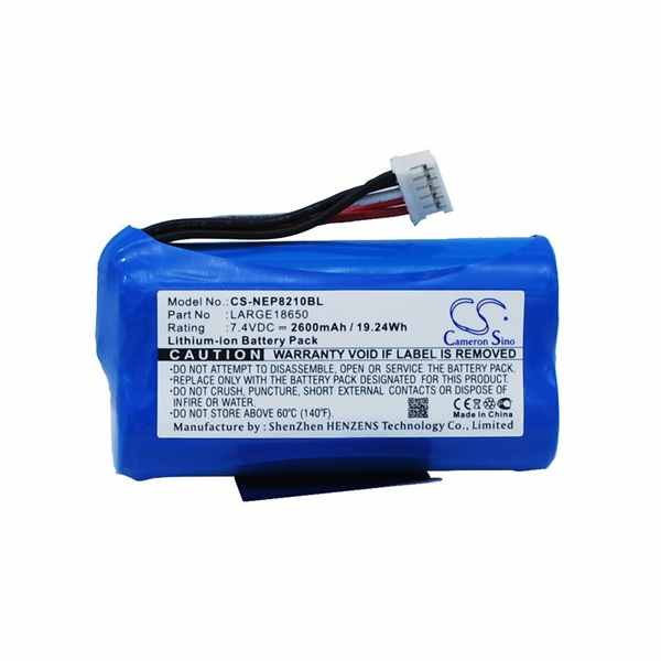 Replacement Battery Batteries For NEWPOS LARGE18650 CS NEP8210BL