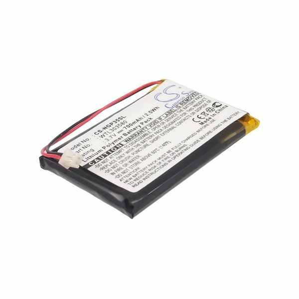 Replacement Battery Batteries For NAVGEAR GT 35 128MB CS NGP35SL