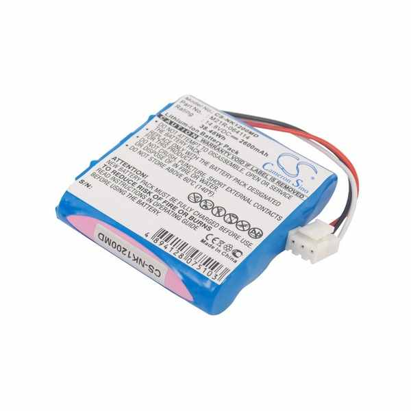 Replacement Battery Batteries For EDAN SE 1200 CS NK1200MD