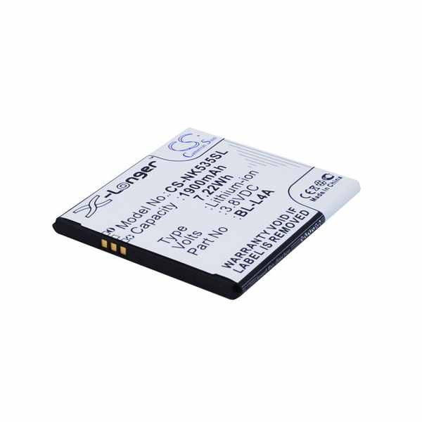 Replacement Battery Batteries For MICROSOFT BL L4A CS NK535SL