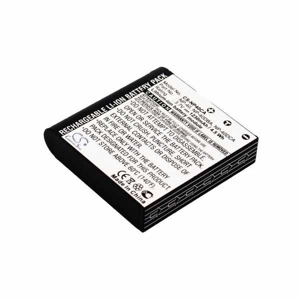 Replacement Battery Batteries For SOMIKON DVR 853 CS NP40CA