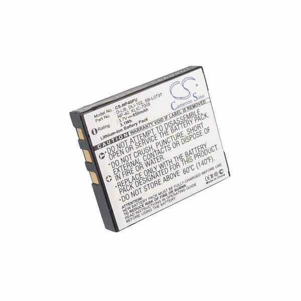 Replacement Battery Batteries For SVP CDC 650 CS NP40FU