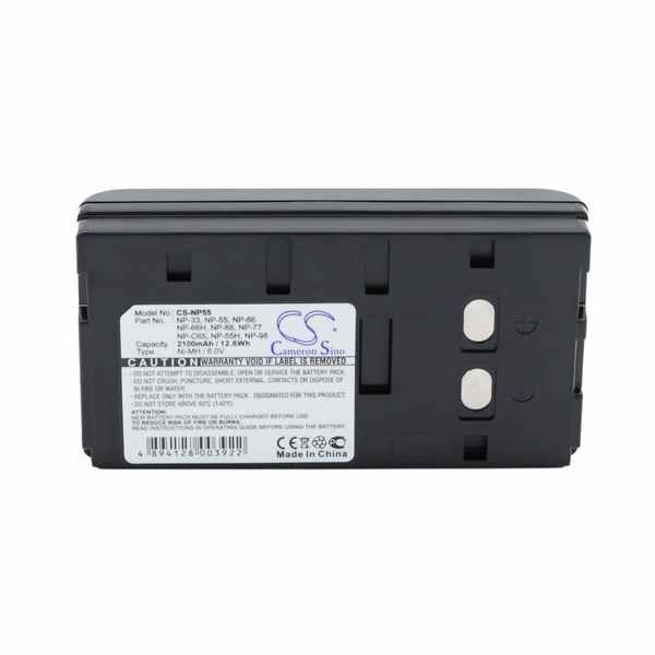 Replacement Battery Batteries For AKAI PVC500E CS NP55