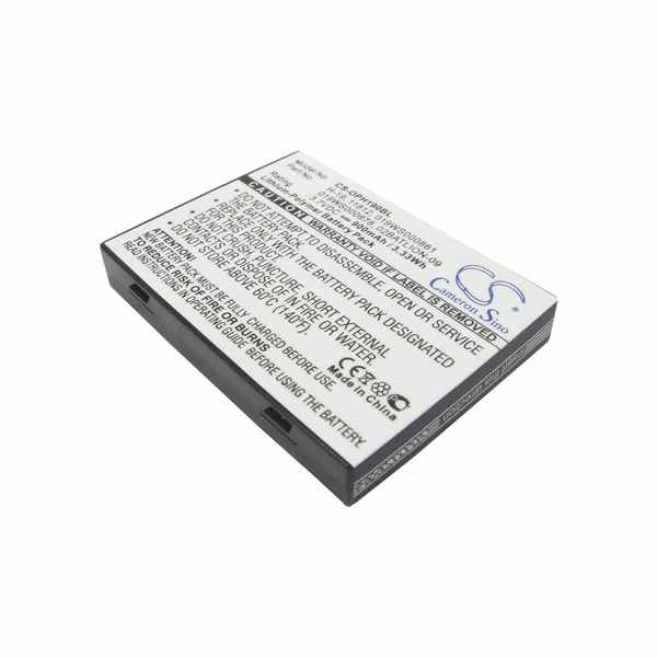 Replacement Battery Batteries For OPTICON 019WS000861 CS OPH190BL