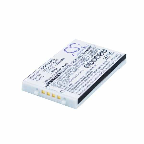 Replacement Battery Batteries For OPTICON 02 BATLION 03 CS OPH970BL