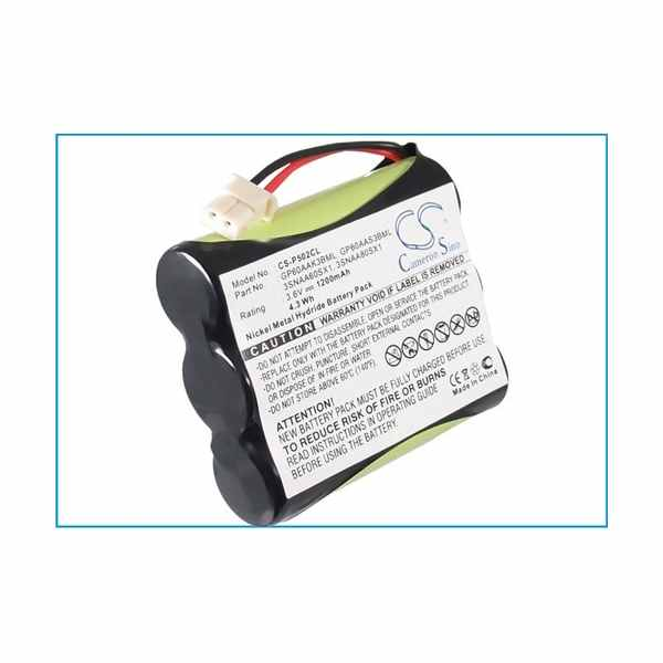 Replacement Battery Batteries For ITT PC3310 CS P502CL