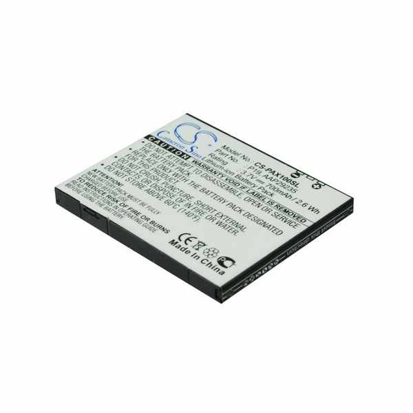Replacement Battery Batteries For PANASONIC AAP29235 CS PAX100SL