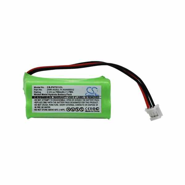 Replacement Battery Batteries For PHILIPS 215Quattro CS PHT211CL