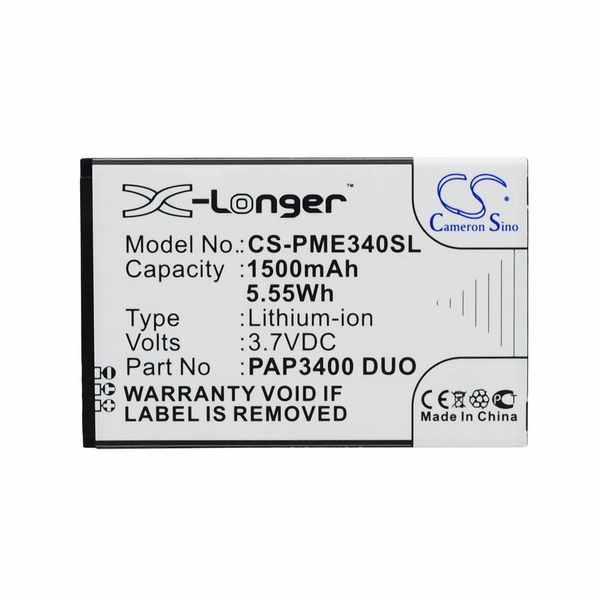 Replacement Battery Batteries For PRESTIGIO Multiphone 3400 Duo CS PME340SL