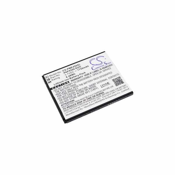 Replacement Battery Batteries For PRESTIGIO Multiphone 4500 Duo CS PME450SL
