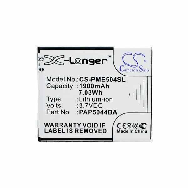 Replacement Battery Batteries For PRESTIGIO Multiphone 5044 Duo CS PME504SL