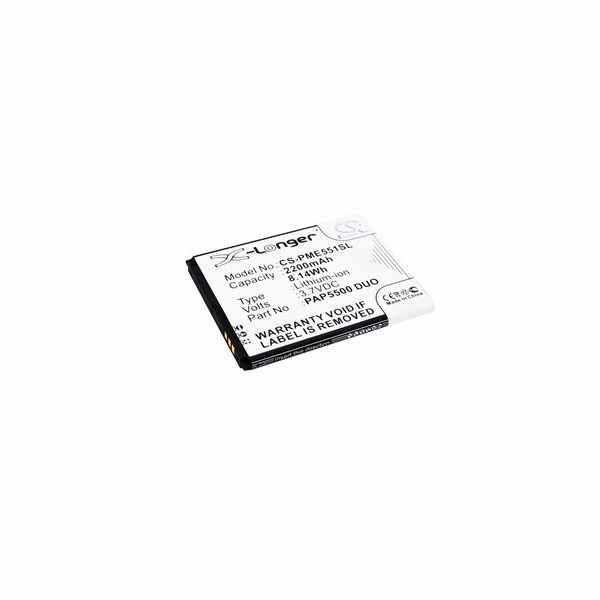 Replacement Battery Batteries For PRESTIGIO Multiphone 5500 Duo CS PME551SL