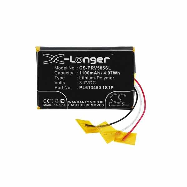 Replacement Battery For Prestigio PL613450 1S1P GeoVision 5850HDDVR
