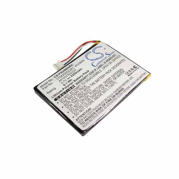 Replacement Battery Batteries For PHILIPS 310420052281 CS PSU9800RC