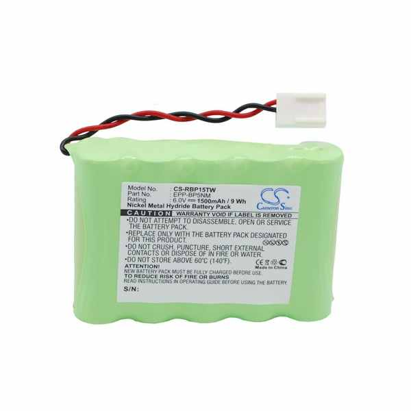 Replacement Battery Batteries For RITRON JBC15H CS RBP15TW
