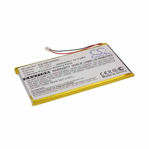 Replacement Battery For Rollei ES1020G MP3 Player