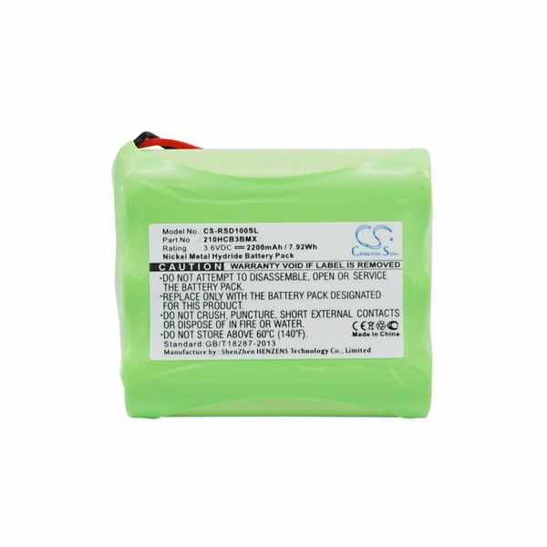 Replacement Battery Batteries For ROBERTS SportsDab1 CS RSD100SL