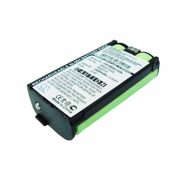 Replacement Battery Batteries For SENNHEISER 2015FM CS SBA015SL
