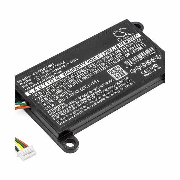 Replacement Battery Batteries For SUN 371 2658 CS SBX625BU