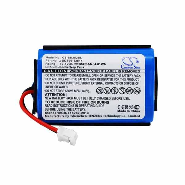 Replacement Battery For SportDOG SAC00-13514 SDT00-13514 ProHunter 2525 SD-2525 Transmitter