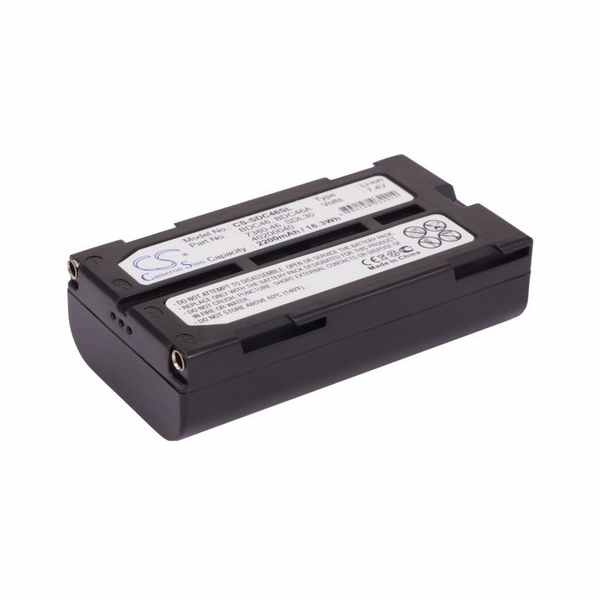 Replacement Battery For Sokkia 40200040 7380-46 BDC46 NET1200 SDL30M 10 30R