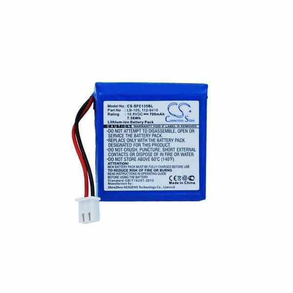 Replacement Battery Batteries For SAFESCAN 112 0410 CS SFC135BL