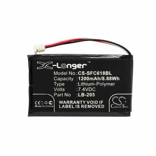 Replacement Battery Batteries For SAFESCAN 131 0477 CS SFC618BL