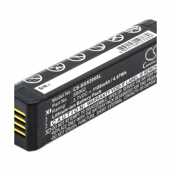 Replacement Battery Batteries For SHURE GLX D Digital Wireless Systems CS SGX200SL