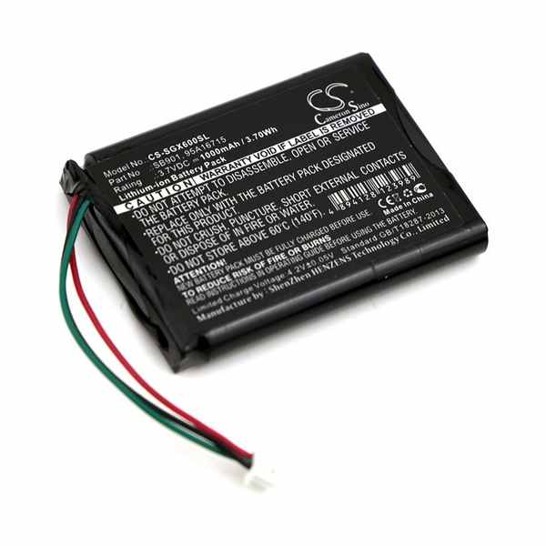Replacement Battery Batteries For SHURE 95A16715 CS SGX600SL