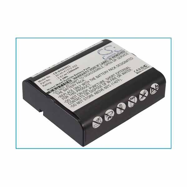 Replacement Battery For MBO Alpha 1400CT
