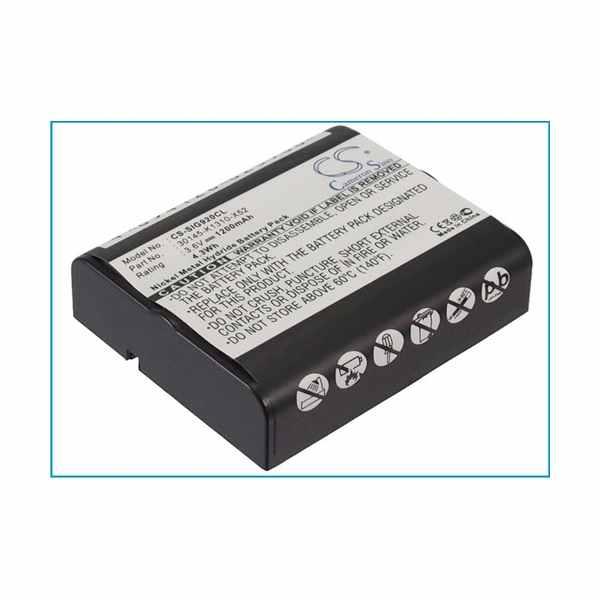 Replacement Battery Batteries For SIEMENS 30145 K1310 X52 CS SIG920CL