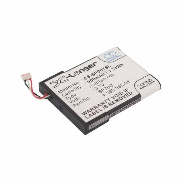 Replacement Battery Batteries For SONY 4 285 985 01 CS SP007SL