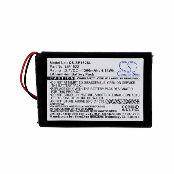 Replacement Battery Batteries For SONY CHU ZCT1H CS SP152SL