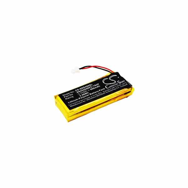 Replacement Battery Batteries For CARDO G9x CS SRD400SL