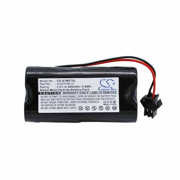 Replacement Battery For Tri-Tronics CUSTOM-27 1016200