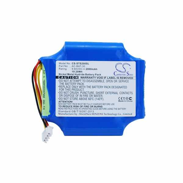 Replacement Battery For ShinewayTech AC-BAT-30 S20A S20B S20C