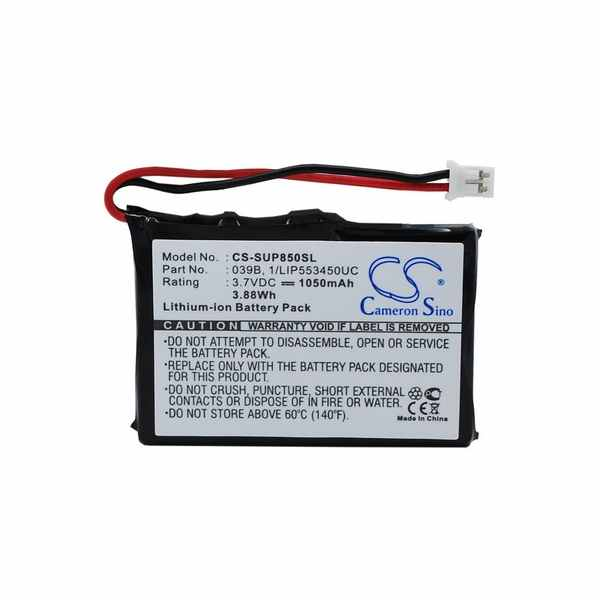 Replacement Battery Batteries For MICROTRACKER 01 065 0624 0 CS SUP850SL