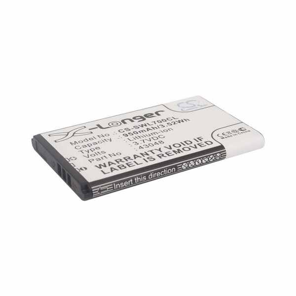 Replacement Battery Batteries For SWISSVOICE 43048 CS SWL700CL
