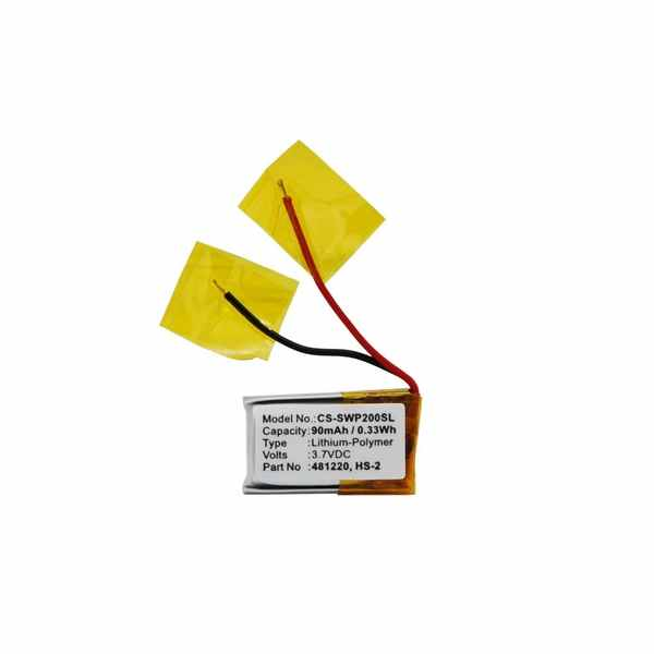 Replacement Battery Batteries For SAMSUNG 481220 CS SWP200SL