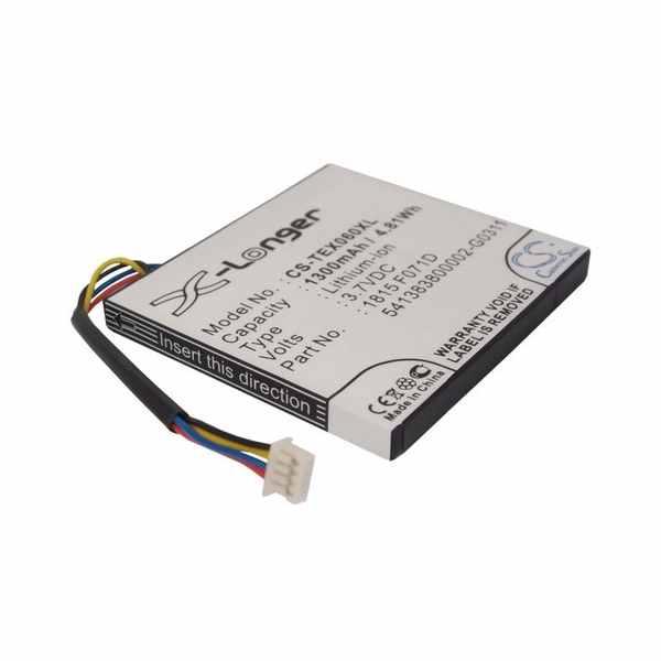 Replacement Battery For Texas Instruments 1815 F071D 3.7L1060Sp 3.7L1230Sp N2/Ac/2L1/A Ti-84 Plus