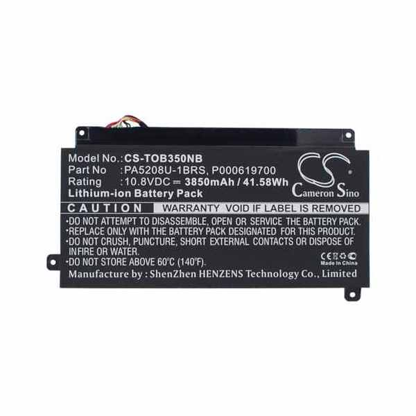 Replacement Battery Batteries For TOSHIBA CB35 A3120 CS TOB350NB