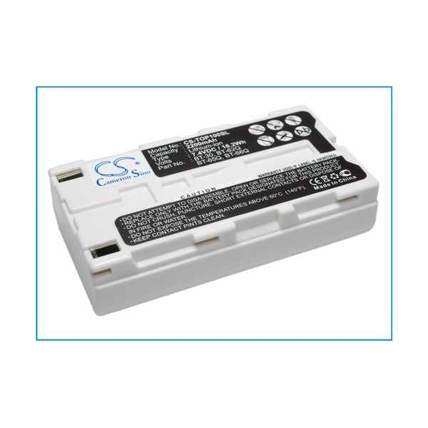 Replacement Battery Batteries For TOPCON BT 30 CS TOP100SL