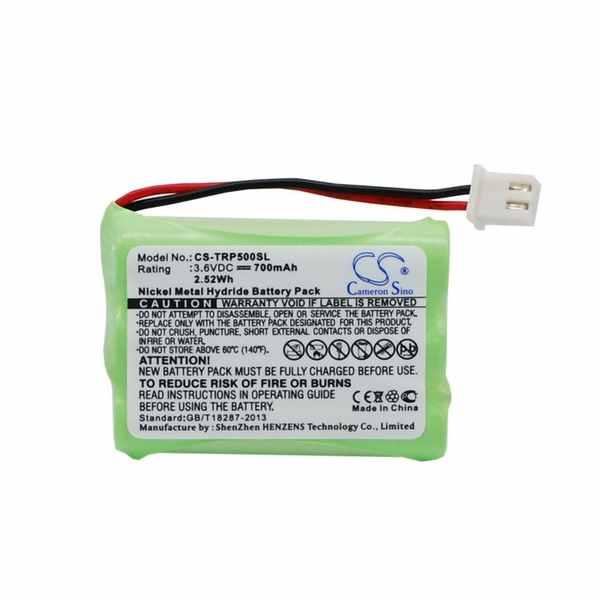 Replacement Battery For Tri-Tronics 1038100-D 1038100-E 1038100-G G2 Pro 500XL 500XLS